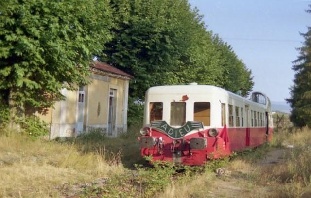 Il etait une fois la gare de midon vernosc les annonay - Maison au bord de la voie ferree ...