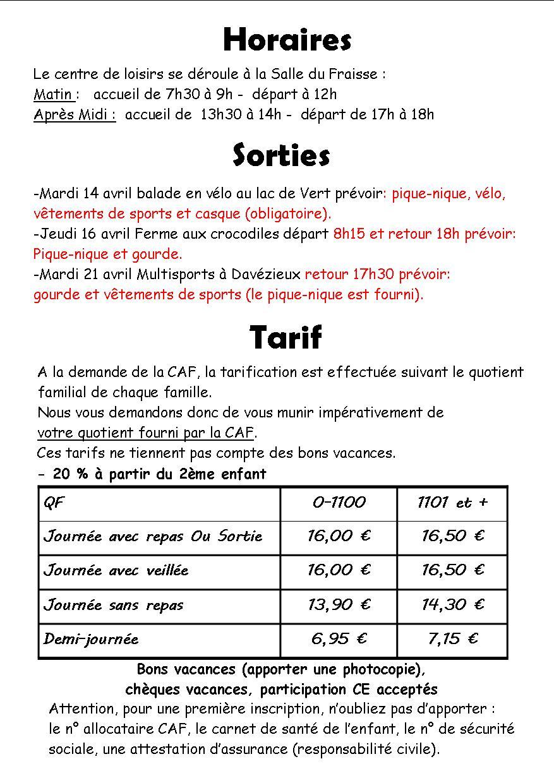 Horaire Caf De Belfort