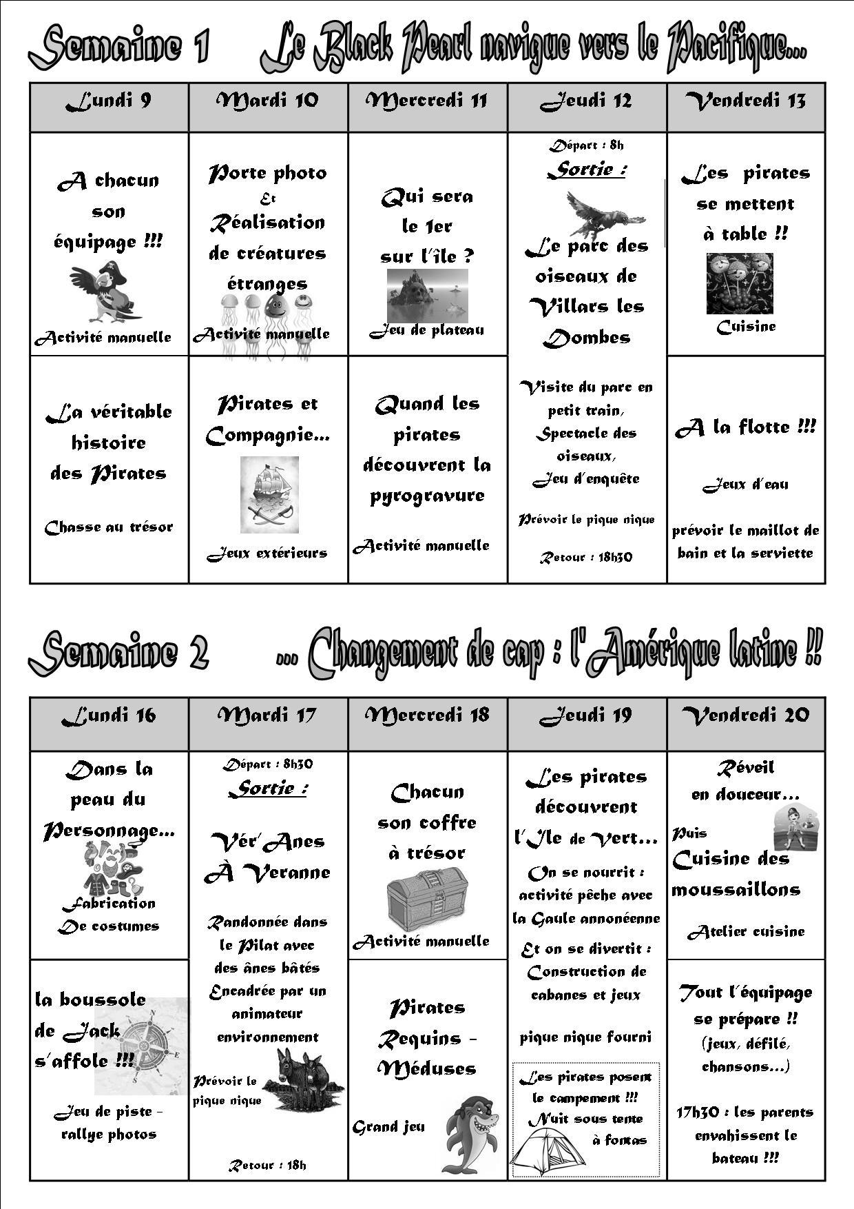 Activités Manuelles Centre De Loisirs 6 10 Ans centre de loisirs municipal - vernosc-les-annonay